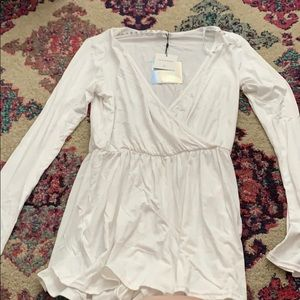NWT missguided romper